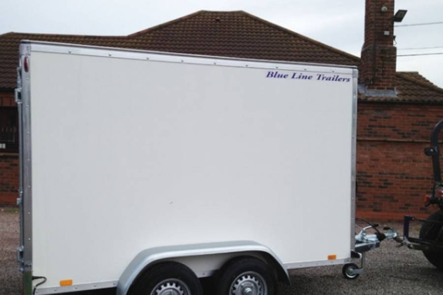 TRAILER 10FT BOX TRAILER WITH RAMP Car Hire Deals