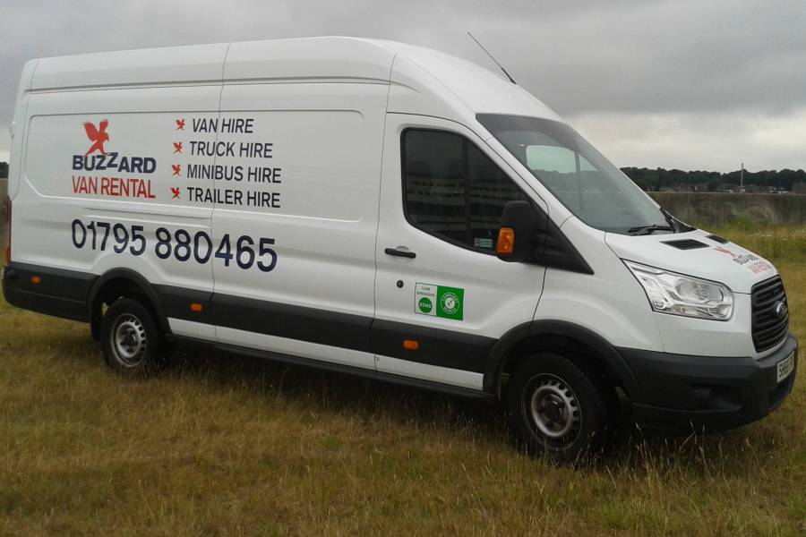 FORD TRANSIT ELWB HIGH TOP Car Hire Deals